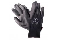 Gants Pu-Flex noir taille 10 (XL)