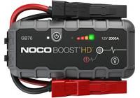 Noco Genius GB70 12V 2000A Booster Batterie