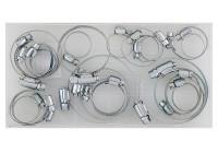 Assortiment de colliers de serrage 26 pièces