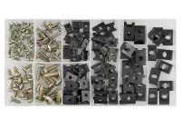 Assortiment de vis à pince 170 pièces