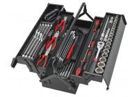 Boîte à outils remplie de 62 pièces