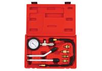 Kit de test de compression pour moteurs à essence 8 pcs.
