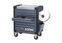 Chariot à outils rempli SFS S9 369 pcs.