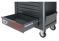 Grand tiroir noir pour chariot à outils anniversaire (S10)