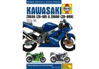 Kawasaki ZX636 (ZX-6R) et ZX600 (ZX6RR) (03-06)