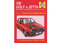 Haynes Workshop manual VW Golf & Jetta Mk 2 Essence (1984-Fév 1992)