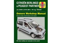 Manuel d'atelier Haynes Citroën Berlingo & Peugeot Partner (2008-2016)