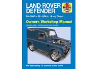 Haynes Workshop manuel Land Rover Defender diesel (février 2007-2016)