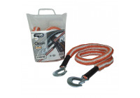 Corde de remorquage Jumbo Stretch Orange / Blanc 2500kg