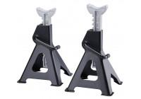 Supports d'essieux, ensemble de 2 pièces de 3 000 kg