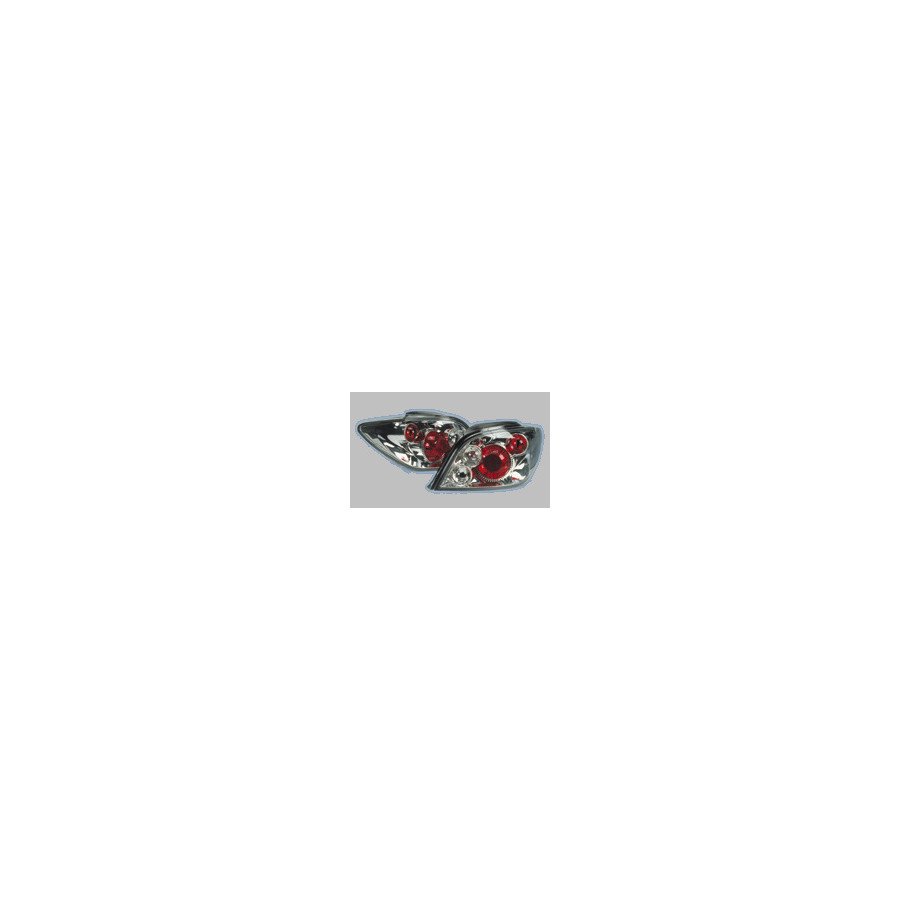 Achterlichten peugeot 307 chrome excl wagon sw dl per05 for 3a interieur accessoires