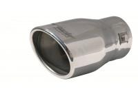 Simoni Racing Uitlaatsierstuk Oval / Oblique SS - 95x82 - Längd 147mm - Montering 43 mm- 67mm