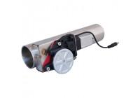 Simoni Racing Universal avgasventil (på/av) med strömbrytare och kabelsats