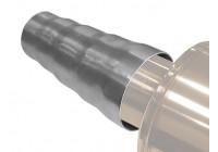 Universal utlopp ansluter adapter (las) 50-70mm