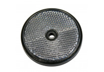 Reflector rond 70mm wit