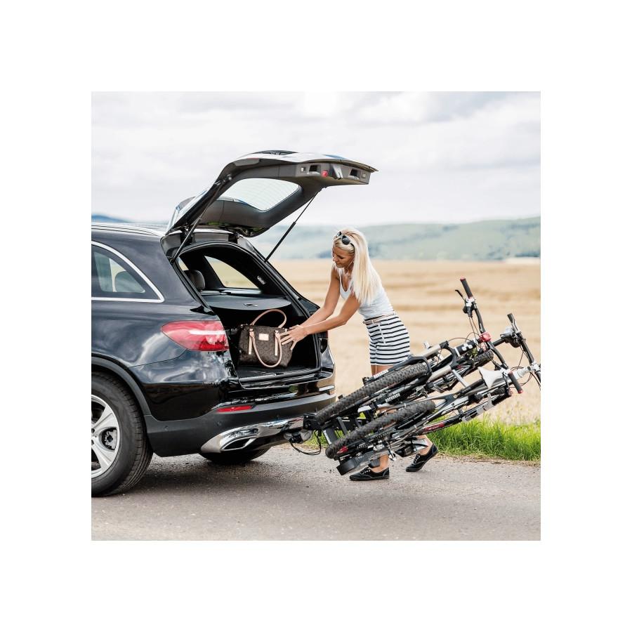 Bosal traveller ii e bike fietsendrager 070 532 winparts for Porte bagage 60kg