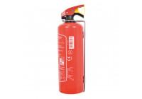 Brandsläckare 1kg - Röd - inklusive monteringsfäste