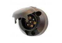 Socket 7-polig plast med dimma strömbrytare