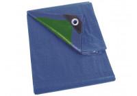 Presenning - blå / grön - Grundläggande - 2 x 3m
