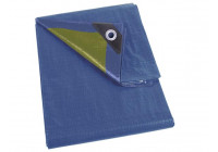 DECK SHEET - BLUE / KAKI - STRONG - 5 x 6 m