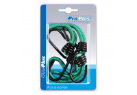 Hook metall med elastisk slinga för trailer nät / tält / segla 4 stycken i blister