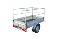 Huifopbouw metall för trailer 2075x1140x900mm