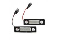 Ange anpassad LED-skyltbelysning - Skoda Octavia & amp;  Roomster 2004-2013