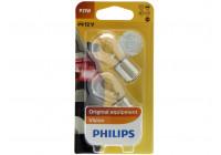 Philips 12498B2 P21W Premium 12V - 2 delar