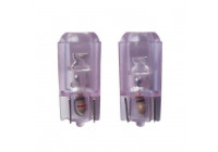T-10 Super Bright LED Lampor 12V Vit (Stabil 5mm), ställa in en 2 bitar