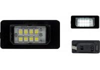 Ställ anpassade LED registreringsskylt belysning BMW Diverse DL BMN01 AutoStyle