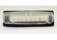 Ställ anpassade registreringsskylt LED-lampor Toyota / Lexus / Mitsubishi Diverse DL TON01 AutoStyle