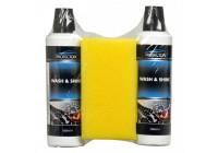 Protecton Wash & shine kit 2 x 500 ml med svamp