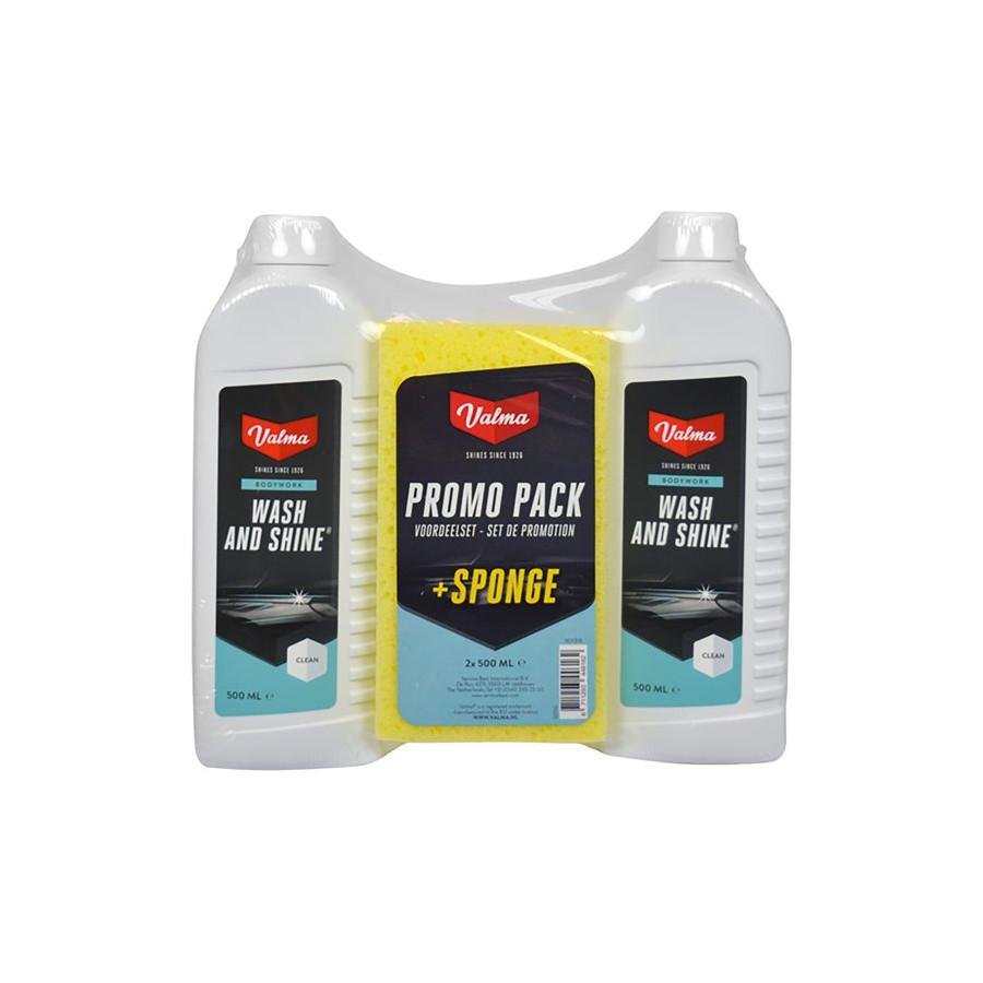 Valma S05G 2x500ml Tvätta och glans med svamp | Winparts
