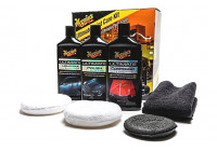 Meguiars Ultimate Paint Care Kit (Kompound, Polska, Växa, Pads)