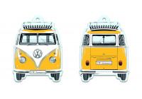 VW T1 Bus Doft - citrus, GUL
