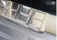 Ingångsvakter i rostfritt stål 2-delar för bakre skjutdörrar