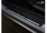 """Universella rostfria ingångsvakter med vit LED-belysning """"Special Edition"""" - 2-delad"""