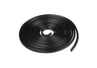 Dörrskydd 5 meter - svart - fällbart