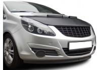 Motorhuv cover Opel Corsa D 2011- svart