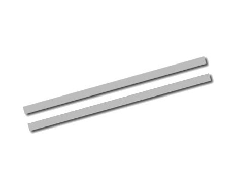 Universal self-adhesive striping AutoStripe Cool270 - Silver - 2 + 2mm x 975cm