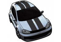 ViperStripes matt black - set of 2 pieces - length 500cm / width 10cm