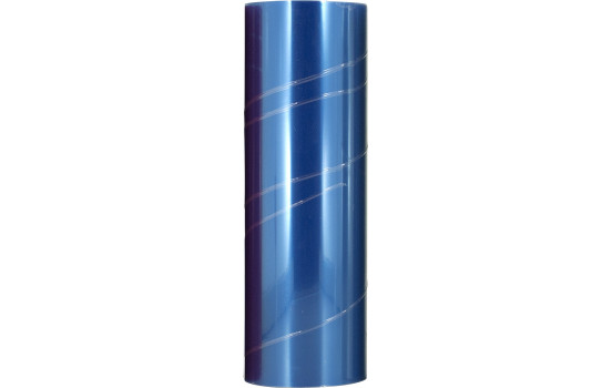 Headlight / tail light foil - Blue - 1000x30 cm