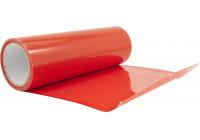 Headlight / tail light foil - Red - 1000x30 cm