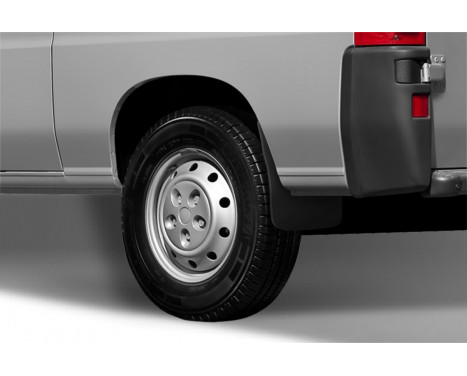 mud flap set (mudflaps) Rear Fiat Ducato 2000-2012 2 pcs. Not for campers., Image 2
