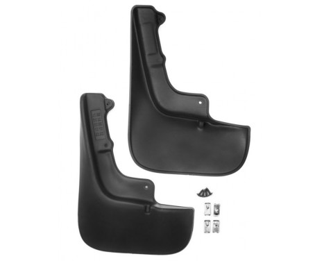 Mud flaps front CITROEN Jumper / PEUGEOT Boxer (with mudguard extension),