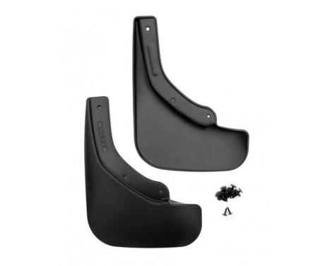 mud flaps set (mudflaps) Rear MAZDA CX-9 2012-> 2 pcs.