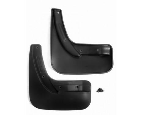 Mudflap kit (mudflaps) Rear Citroën C4 Grand Picasso, 2014+ (2pcs)