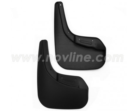 Mudflap kit rear Ford Fiesta hatchback 2015- 2-pieces