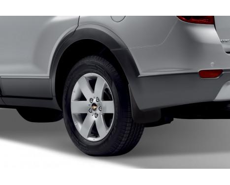 mudflaps set Rear CHEVROLET CAPTIVA C140 2011-> 2 pcs., Image 2
