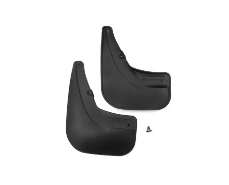 mudflaps set Rear FIAT DOBLO From 2014-> 2 pcs.